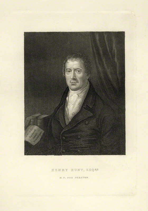 NPG D20838; Henry Hunt by Unknown artist
